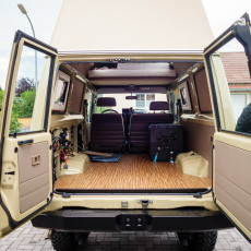 Making of – Converting a HZJ 78 into a camper (Part 2)